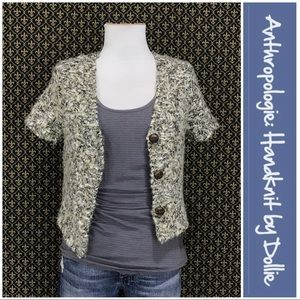 "Anthro ""Backroads Cardigan"" by Handknit by Dollie"